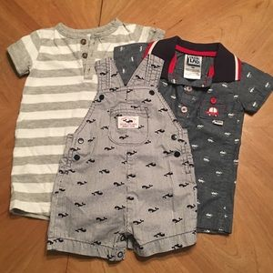 Baby boy rompers Size 3months